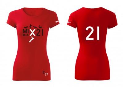 mix cervene damske